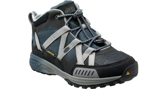 Keen Versatrail Mid WP Shoes Youth Midnight Navy/Neutral Gray